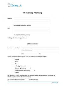mietvertrag-wohnung